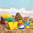 Childrens beach toys — Stock Photo #52146459