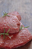 Raw veal meat — Stock Photo