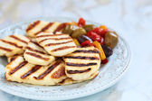 Halloumi cheese — Stock Photo