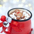 ������, ������: Hot chocolate and marshmallows