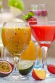 Passion fruit cocktail — Foto Stock