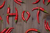 Chili pepper hot — ストック写真