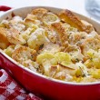 Постер, плакат: Casserole with cauliflower