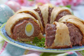 Meatloaf ring — Stockfoto