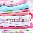 Layette for newborn baby girl — Stock Photo #72641099