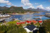 罗弗敦海挪威 — 图库照片
