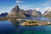 ロフォーテン諸島ノルウェー — ストック写真