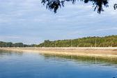 Promenade on the lake — Stockfoto