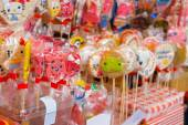 Many different lollipops — Stock Photo