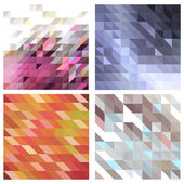 Vector set of backgrounds — Stock Vector
