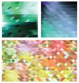 Vector abstract backgrounds — Stock Vector