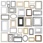 Picture frames — Stock Vector