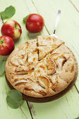 Apple pie. charlotte — Stock Photo