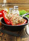 Gefüllte paprika — Stockfoto