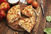 Apfelkuchen, charlotte — Stockfoto