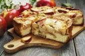 Apple pie. charlotte — Stock Photo