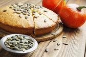 Pumpkin cake — Stock Photo