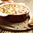 ������, ������: Casserole with cottage cheese and raisins