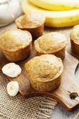 Muffins de plátano — Foto de Stock