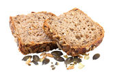 Bread with Pumpkin Seeds — Stock Photo