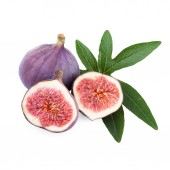 Figs isolated on white background — Stock Photo