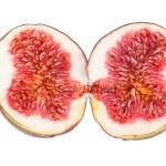 Figs Fruit Two Halves — Stock Photo #58412295