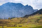 Autumn landscape in the Alps. Austria, Tirol — Stock Photo
