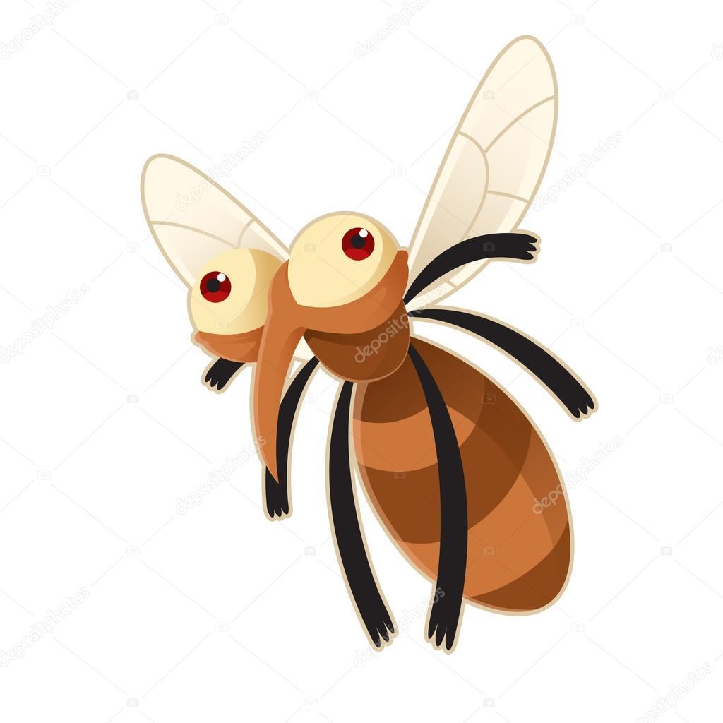 Zanzara — vettoriali stock kolonorf