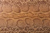 Brown snake pattern imitation — Stock Photo