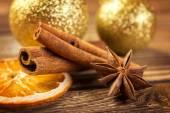 Christmas decorations — Stock Photo