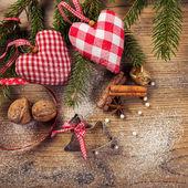 Christmas decorations — Zdjęcie stockowe