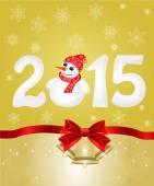 Gott nytt år 2015 — Stockvektor