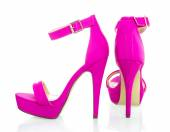 Fashionable High Heels Shoe in pink, XXXL image — Stock Photo