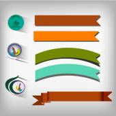 Set of elements for design. — Stock Vector