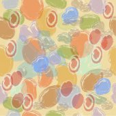 Seamless pattern  pebbles. — Stock Photo