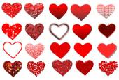 Set of hearts. — Stock Photo