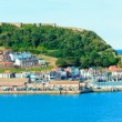 View over Scarborough South Bay harbor in North Yorskire, England — Stock Photo #53884341