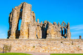 Whitby Abbey in North Yorkshire, UK — Stock Photo