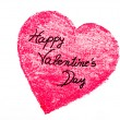 Happy Valentines Day greeting card — Stock Photo #61942995