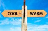 Cool versus Warm — Stock Photo