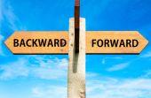 Backward versus Forward — Stok fotoğraf
