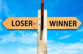 Looser versus Winner — Foto de Stock