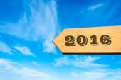 Happy New Year 2016 — Stock Photo