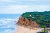 View of Bells beach on Great Ocean Road, Victoria state, Australia — Stock Photo