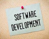 Software Development Message — Stock Photo