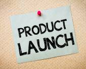 Product Launch Message — Stock Photo