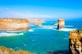 The Twelve Apostles  by the Great Ocean Road in Victoria, Australia — Stock Photo