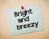 Bright and breezy — Stock Photo