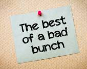The Best of a bad bunch — Fotografia Stock