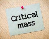 Critical Mass — Stock Photo